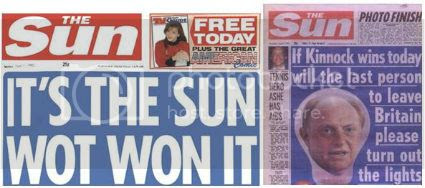 click to read Murdoch testifying on his most infamous headline