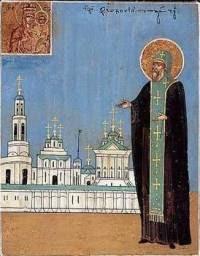 IMG ST. THEODOSIUS, the Abbot of Totma, Vologda