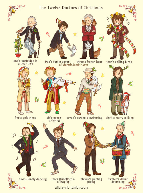 The Twelve Doctors of Christmas