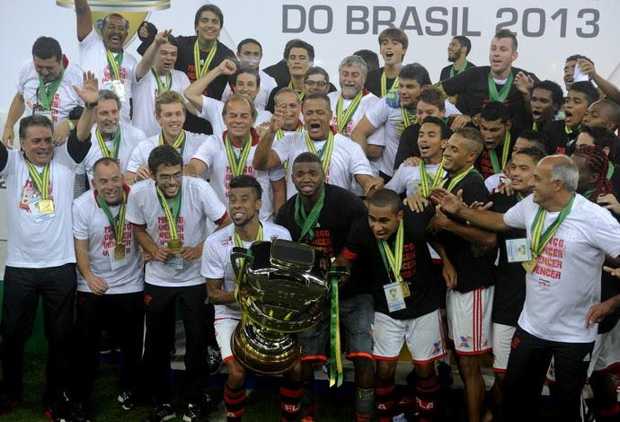 Flamengo Campeão da Copa do Brasil (Foto: Alexandre Vidal/Fla Imagem)