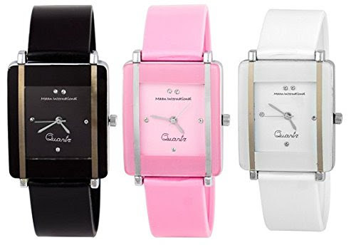 Deals on Maan International Analogue Multi-Color Dial Watch For Woman's