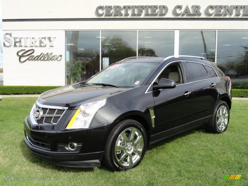 2012 Black Ice Metallic Cadillac SRX Performance AWD ...