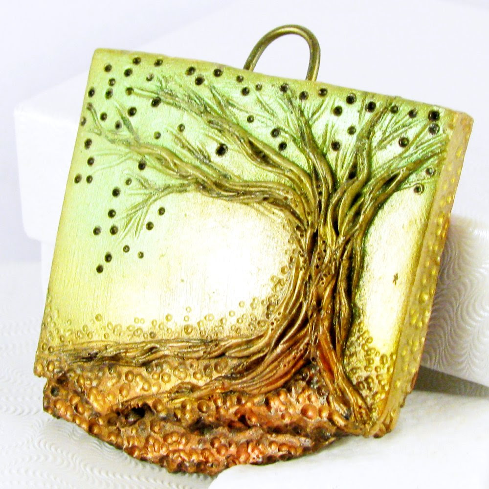 Awaken II Tree Pendant - Custom Order