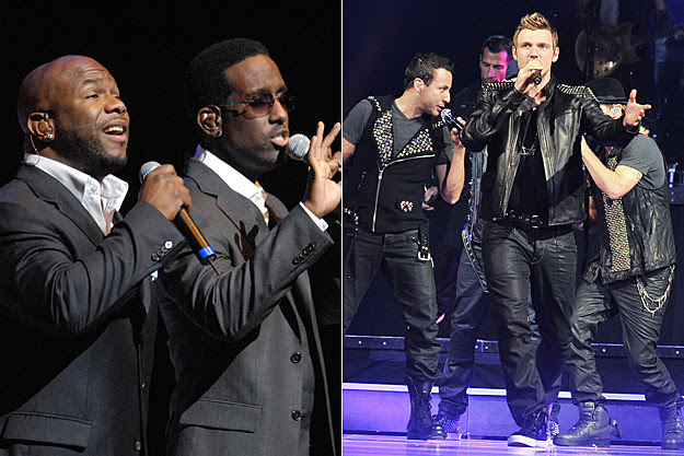 NKOTBSB and Boyz II Men Sing 'End of the Road'