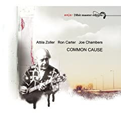 Ron Carter / Attila Zoller / Joe Chambers Common Cause cover