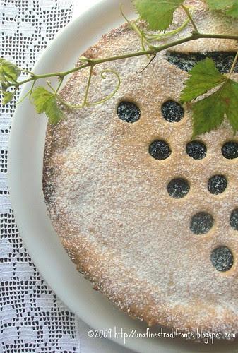 Grape Pie (con frolla) alle nocciole