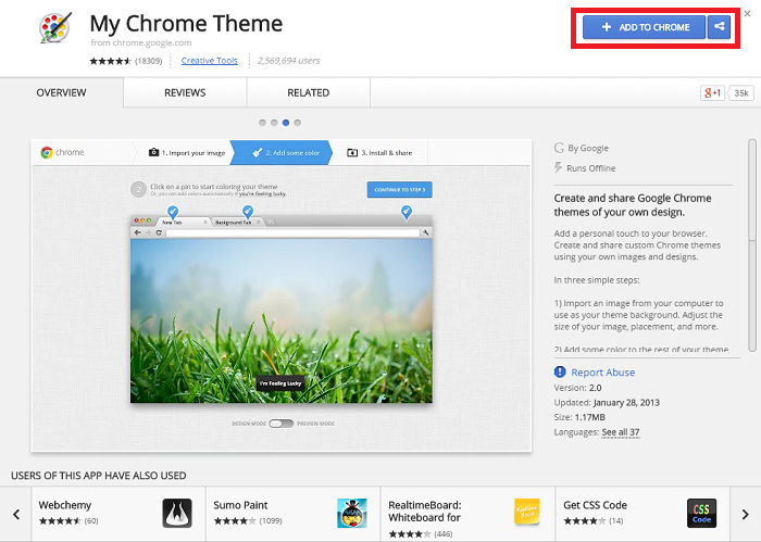 How To Create My Own Google Chrome Theme