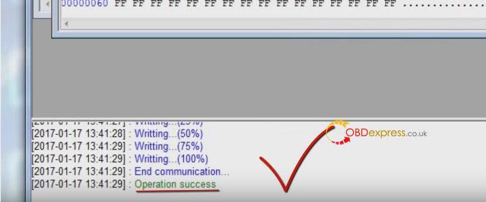 Xhorse Vvdi Porsche Bcm Programmation des touches de lecture 020