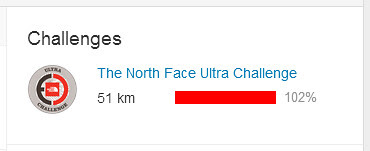 OMG - I completed my first Strava Challange. Barely. Thanks Brad and Bryan.