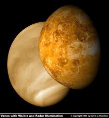 NASA Flight Over Venus