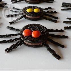 Photo recette : Araignées au chocolat