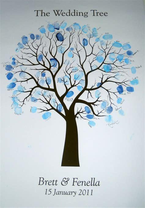 Fingerprint Guestbook Tree   Wedding or Event   Jasmine