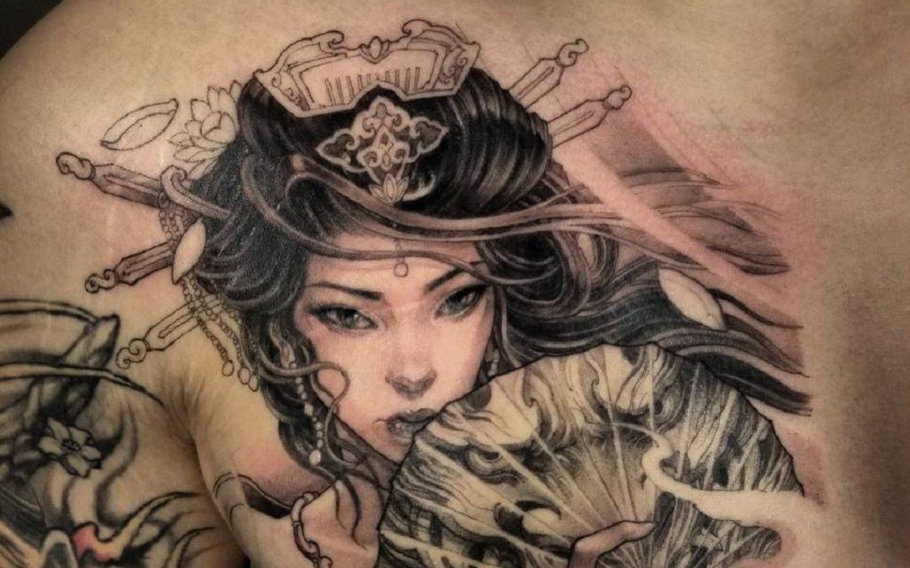 Ideas Para Tatuajes De Geishas Y Sus Significados Tatuajes