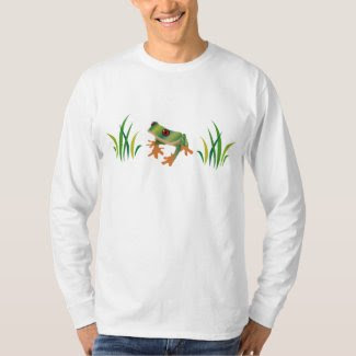 Tree Frog on Men's T-Shirt