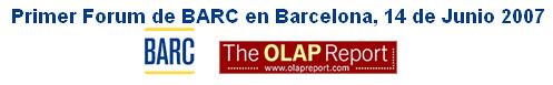 Forum OLAP en Barcelona