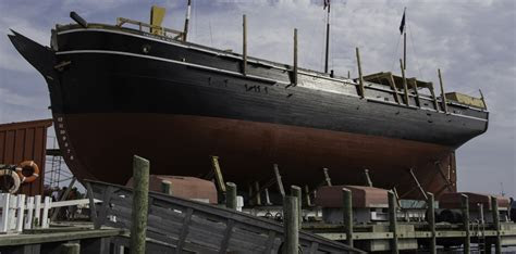 U.S.' Oldest Commercial Vessel and World's Last Wooden