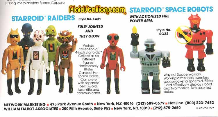 tomlands starroid raiders