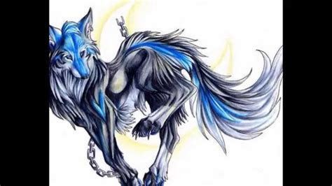 anime wolf drawings youtube