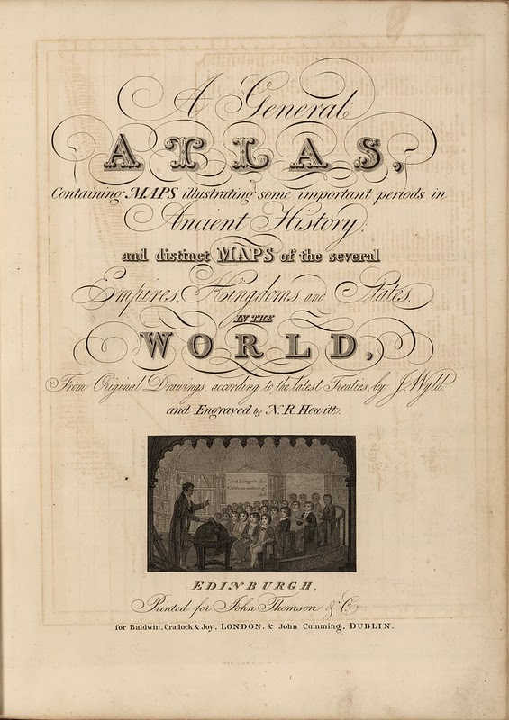 A General Atlas, Containing Maps illustrating some important periods in Ancient History 1824