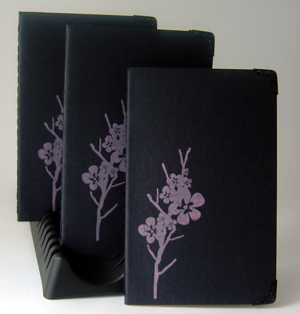 Cherry Blossom - Moleskine Journal with Blank Pages