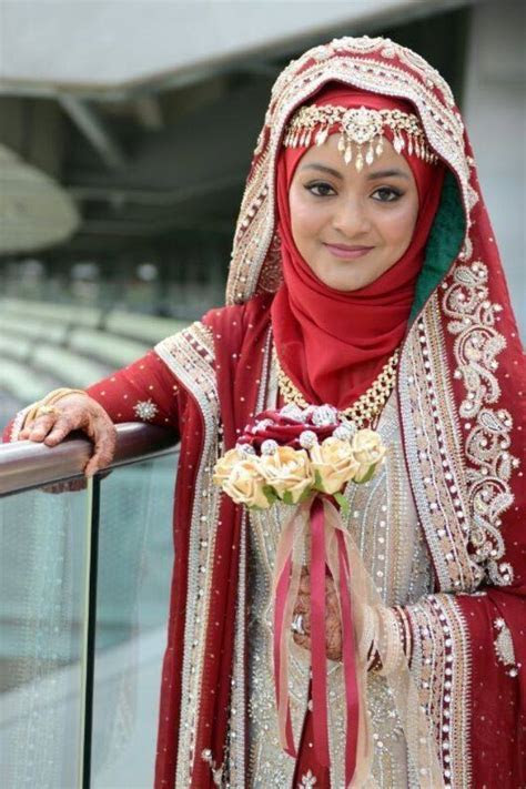 A Collection of Islamic Wedding Gowns With Hijab   HijabiWorld