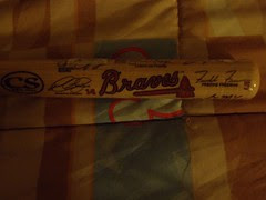 Braves Mini Bat