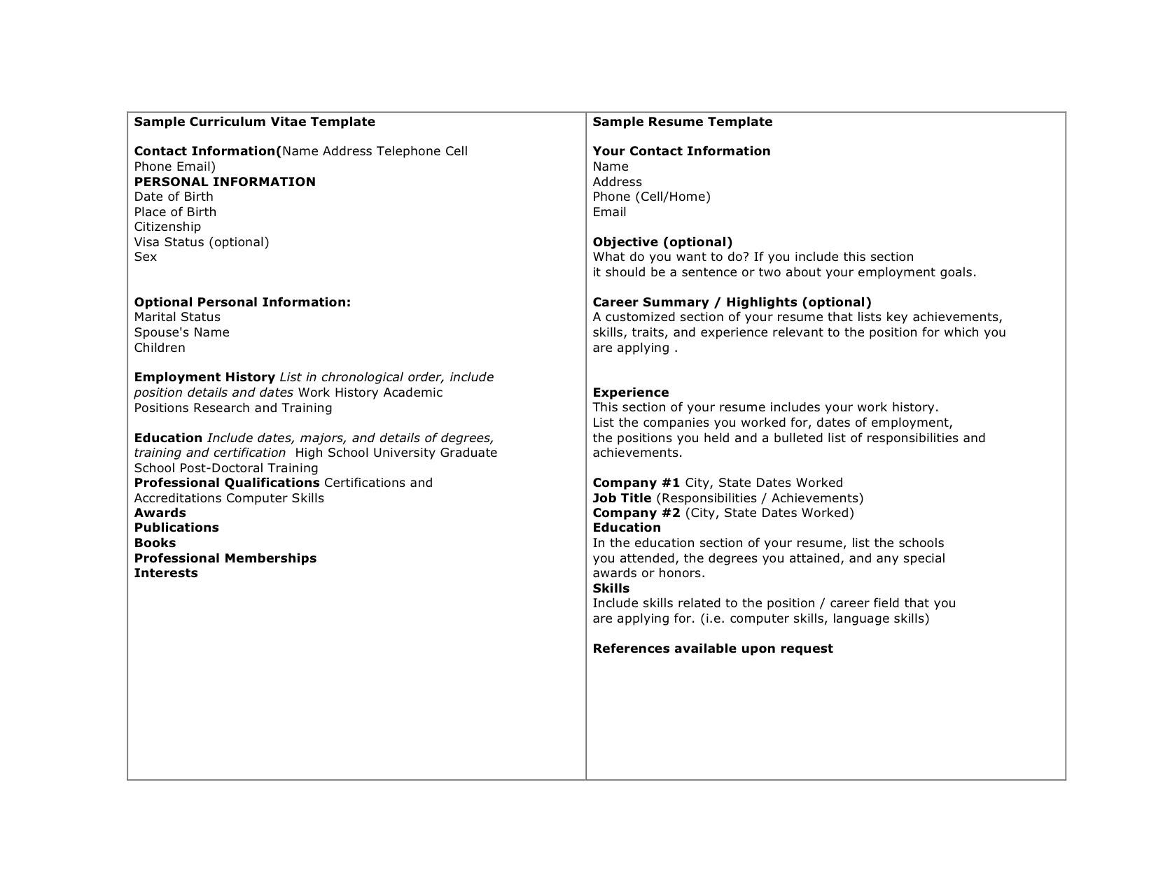 25 Beautiful Resume Or Cv Best Resume Examples