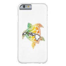 Hawaii Reggae Turtle Barely There iPhone 6 Case