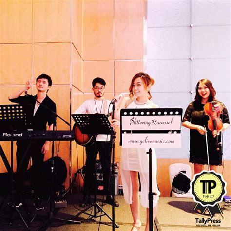 singapores top 10 wedding live bands gc live music