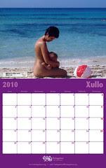 Calendario FEDEGALMA 2010 Xullo