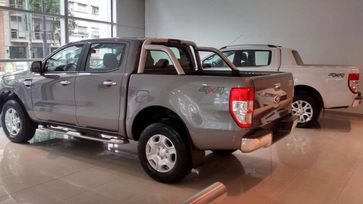 Ford Ranger Xl Cabina Doble 4x2 Diesel 2017 Serra Lima - Año 2017 - 0 ...