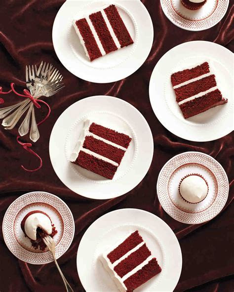 15 Red Velvet Wedding Cakes & Confections   Martha Stewart