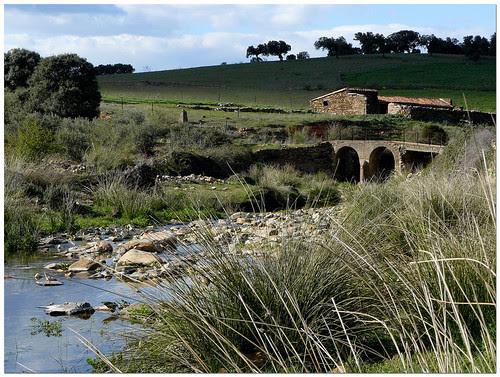 antiguo puente de Mohedas