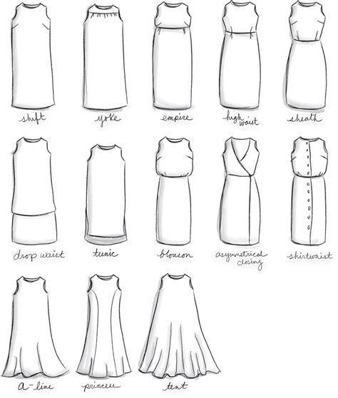 Dress Shapes on Pinterest   Fashion Vocabulary, Dress