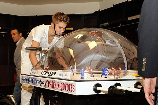 Bubble Hockey Game Used