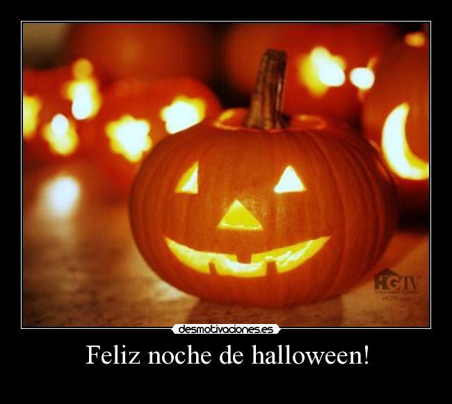 Feliz noche de halloween! -