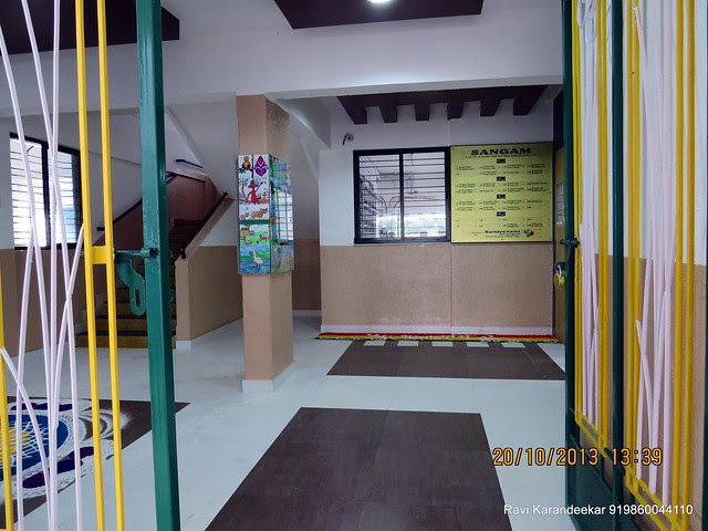 Entrance Lobby with Safety Door - Handing Over Ceremony of Sanjeevani Developers' Sangam at Sus on Sunday 20th October 2013