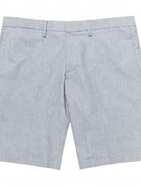 Reiss Irving Shorts Oxford Weave Shorts Airforce Blue