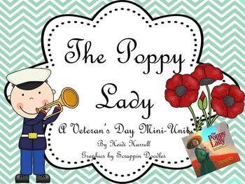 FREEBIE - Veterans Day - The Poppy Lady