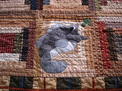 fishing quilt block