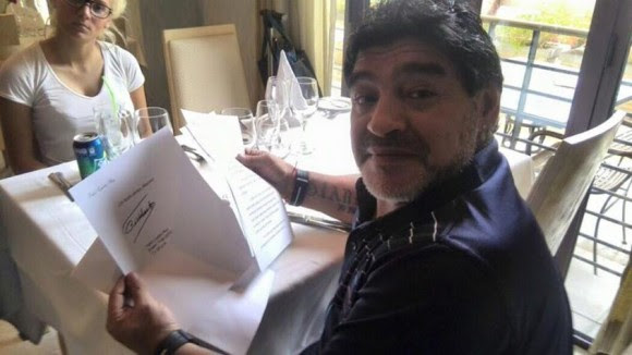 Fidel carta Maradona (1)