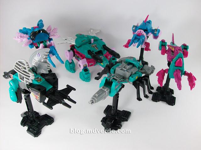 Transformers Seacons G1 Reissue  - modo armas