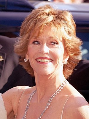 Jane Fonda at the Cannes Film Festival.
