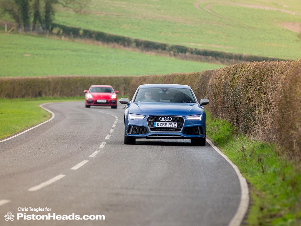 Audi Rs7 Vs Porsche Panamera Turbo Pistonheads