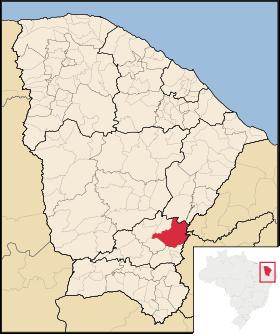 Localização de Icó