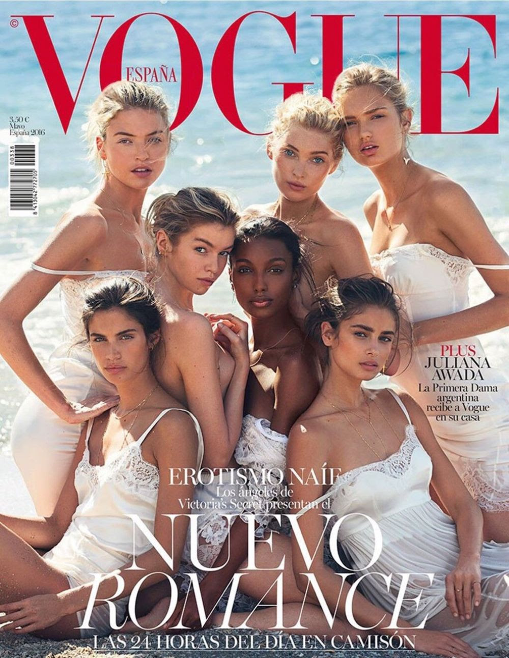 VS Angels in Vogue Magazine, Spain May 2016 Issue