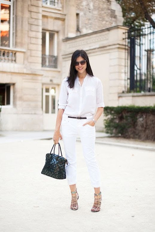 9 Le Fashion Blog 30 Fresh Ways To Wear White Jeans Emily Wiess Button Down Sandals Via Vanessa Jackman photo 9-Le-Fashion-Blog-30-Fresh-Ways-To-Wear-White-Jeans-Emily-Wiess-Button-Down-Sandals-Via-Vanessa-Jackman.jpg