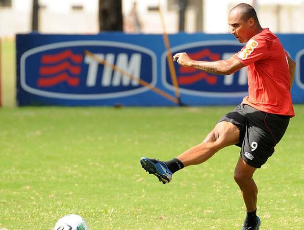 Deivid treino Flamengo (Foto: Alexandre Vidal / Fla Imagem)