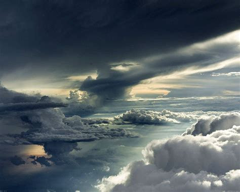 mc wallpaper  storm clouds sky wallpaper