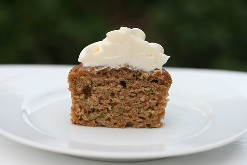 Zucchini Spice Cupcakes (Martha Stewart)